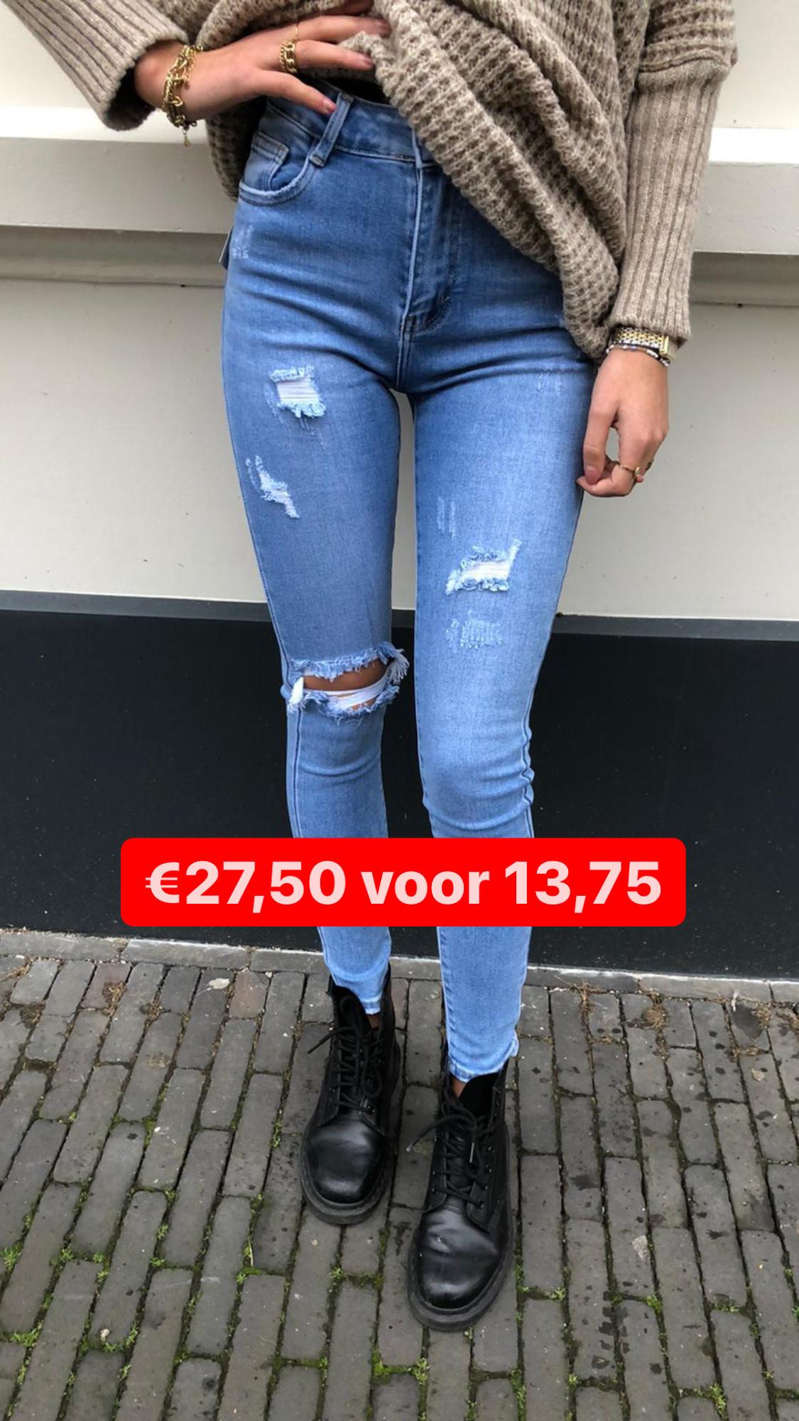 5860 redial Skinny Jeans Light Blue