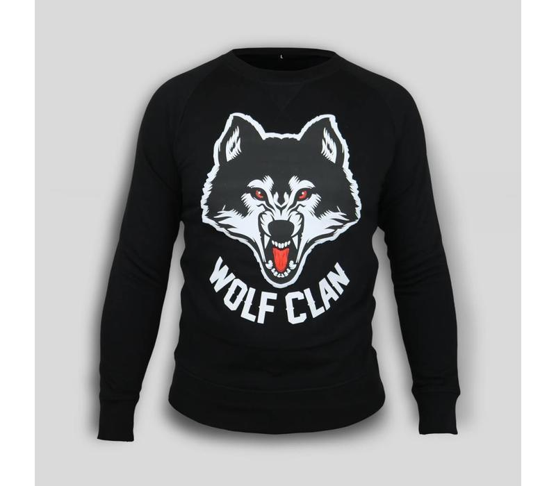 Wolf Clan Black Crewneck