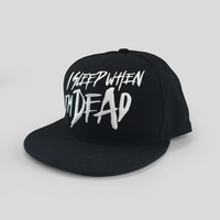 Hard Driver - I Sleep When I'm Dead  Snapback