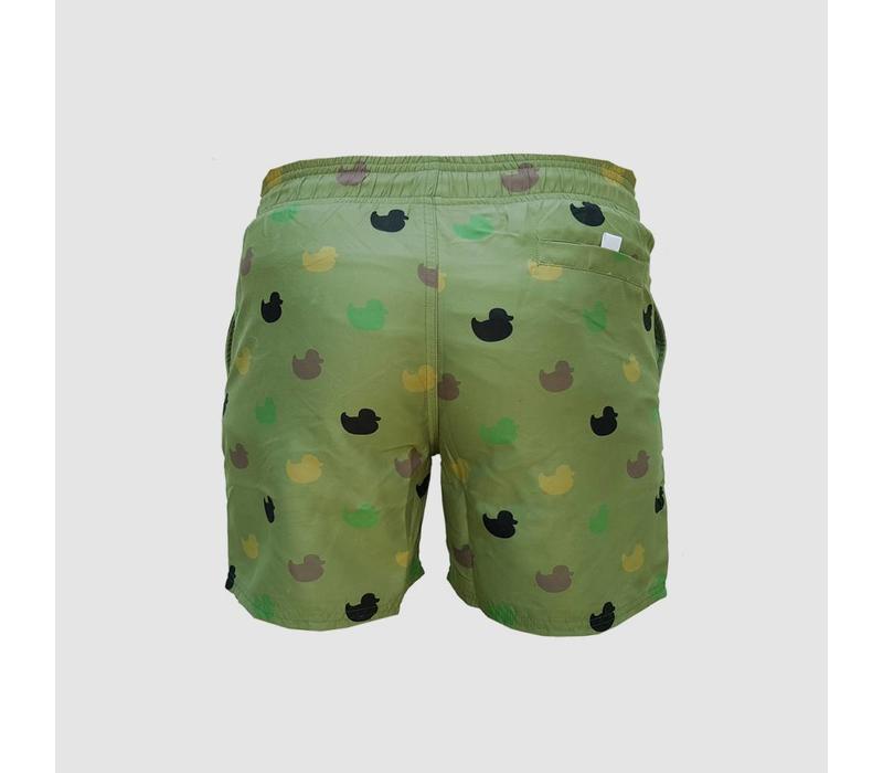 Da Tweekaz - Army Ducks  Swim Shorts