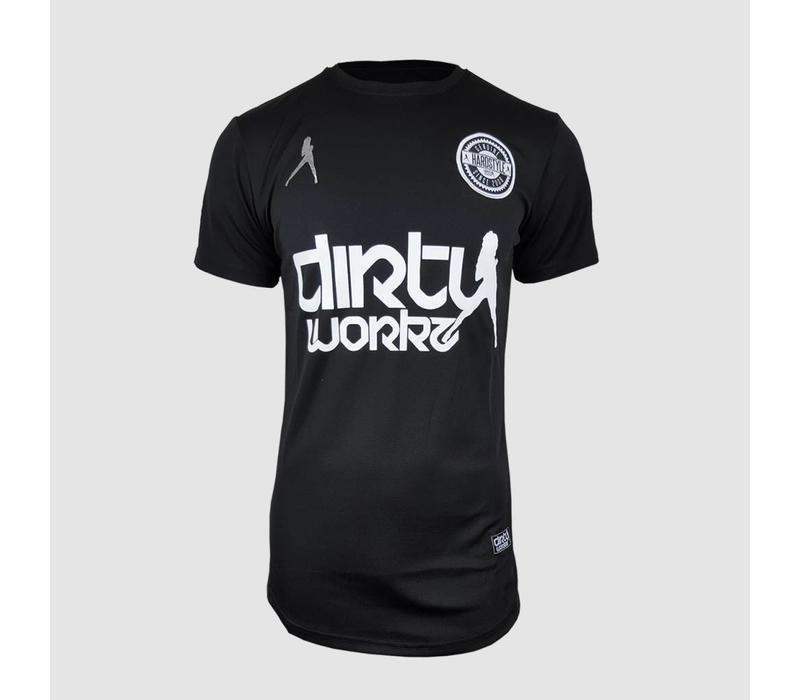 Dirty Workz - Soccer Shirt Full Black