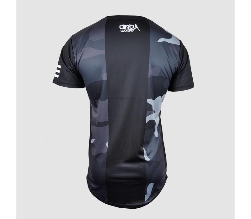 Dirty Workz - Soccer Shirt Black/ Army Grey