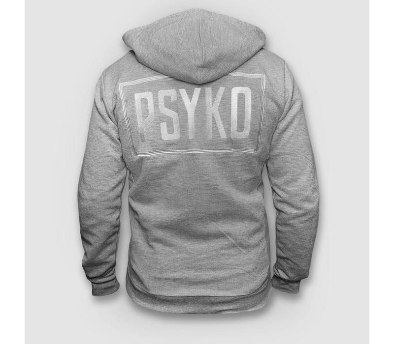 Psyko - Grey Zipped Hoody