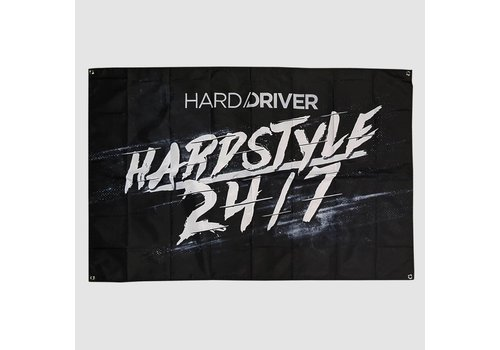 Hard Driver - Hardstyle 24/7 Flag | SOLD OUT