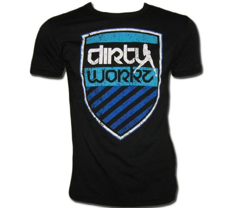 Dirty Workz - Shield Blue Shirt