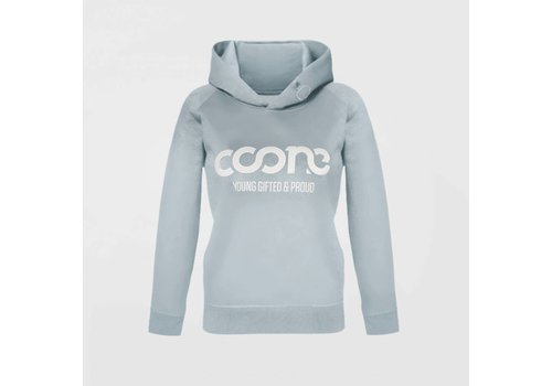 Coone - Y G & P Women's Hoody Light Blue