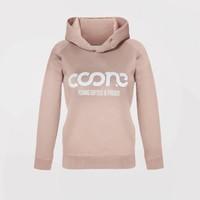 Coone - Y G & P  Women's Hoody Salmon Pink