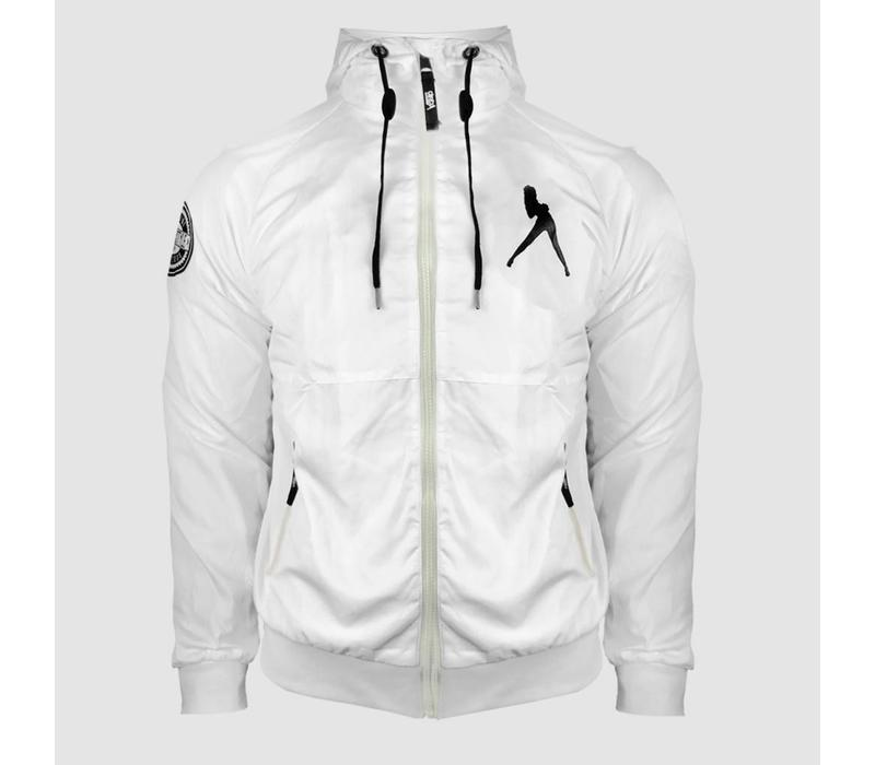 Dirty Workz - Full White Windbreaker Jacket