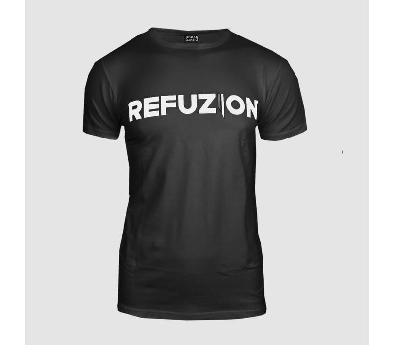 Refuzion - Official Black T-Shirt