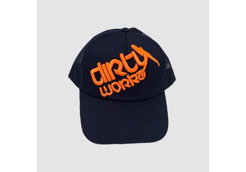 Dirty Workz - Cap Blue/ Fluo Orange
