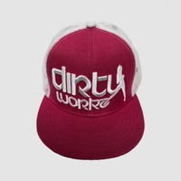 Dirty Workz - Snapback Pink