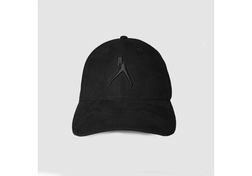 Iconic Black Suede Cap