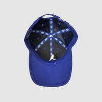iconic Blue Suede Cap