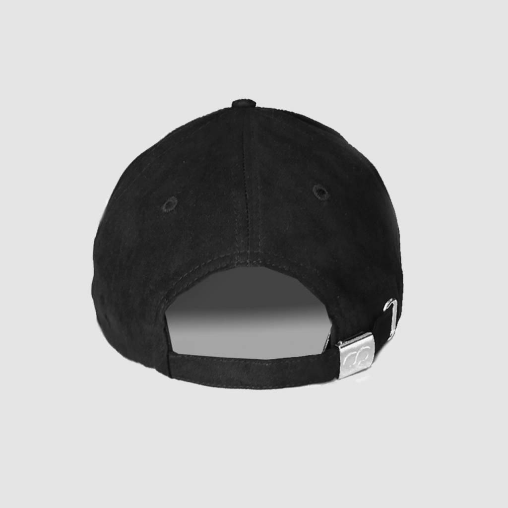 532e2f7eaccb Coone - Black Icon Suede Cap - Dirty Workz Shop - Dirty Workz Shop
