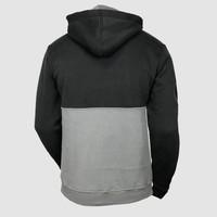 Dirty Workz - Anthracite & Grey Half Zipped Sweater