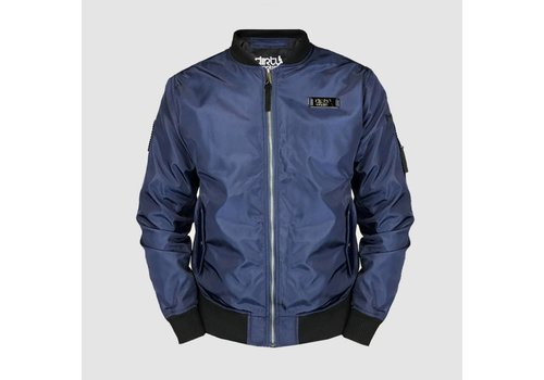 Dirty Workz - Blackout Blue Bomber Jacket