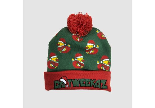 Da Tweekaz - Christmas Beanie with Ball(s) | SOLD OUT