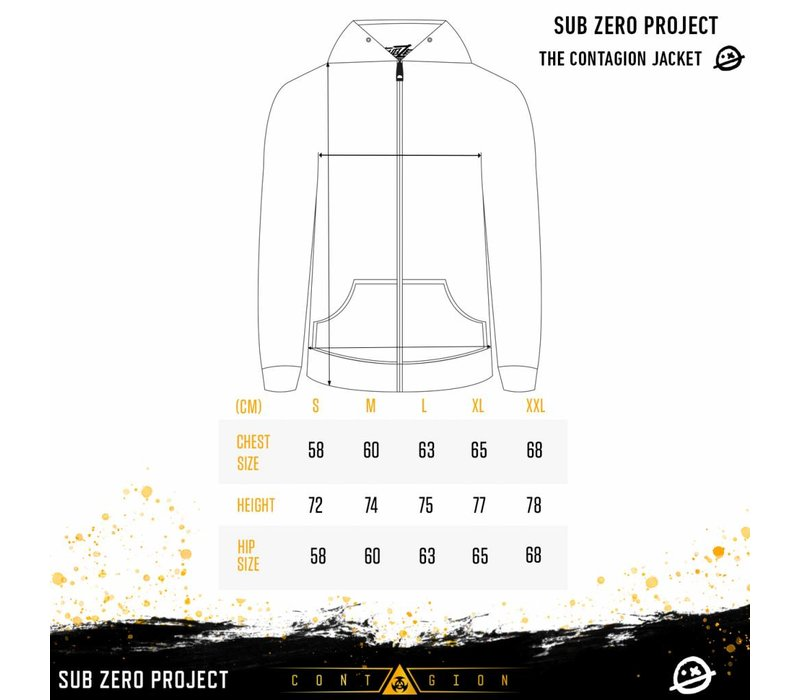 Sub Zero Project - Contagion Black Windbreaker