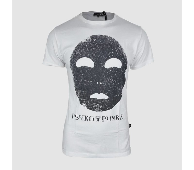 Psyko Punkz - White Oil T-shirt