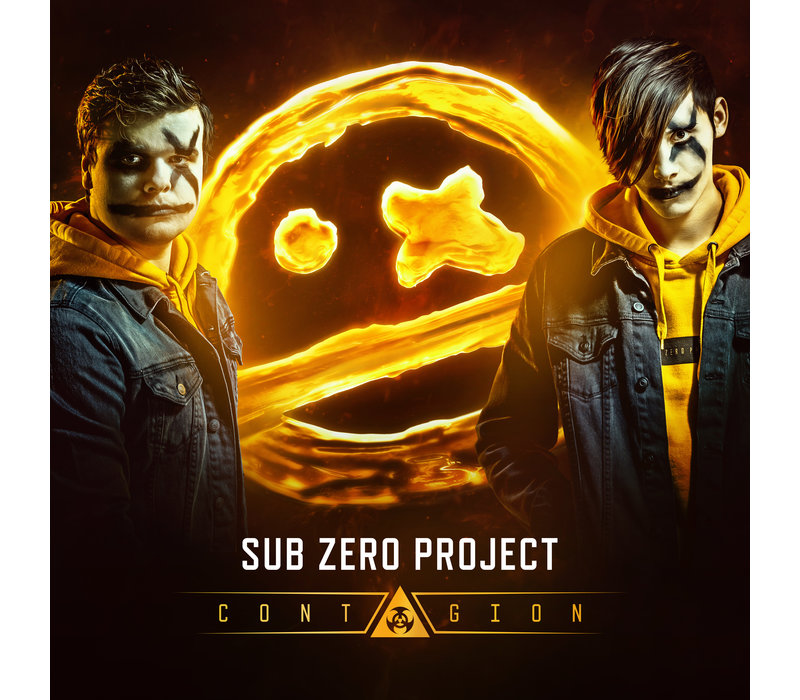 Sub Zero Project - Contagion CD + Flag Pack