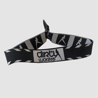 Dirty Workz - Black Icon Bracelet