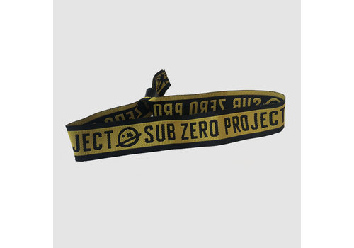 Sub Zero Project - Yellow Logo Bracelet | SOLD OUT