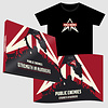 Strength In Numbers - Combi Deal Signed CD+Flag+T-Shirt