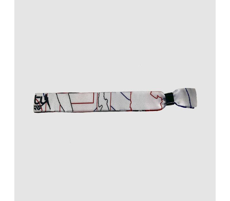 Dirty Workz - White Neon Bracelet