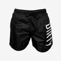 Dirty Swim Shorts - Black