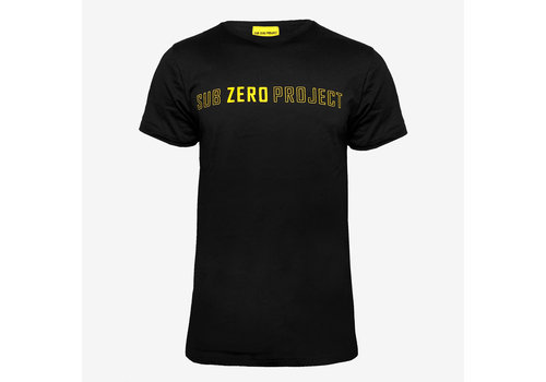 Sub Zero Project - Outline T-Shirt Black/ Yellow