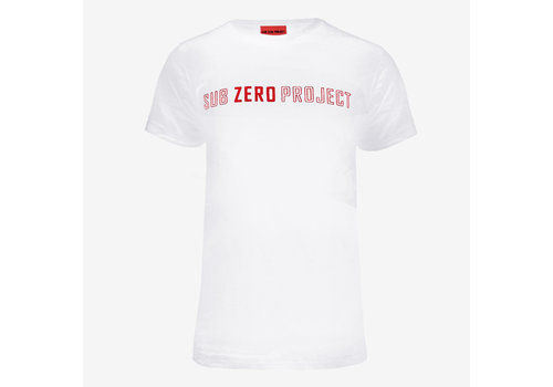 Sub Zero Project - Outline T-Shirt White/Red