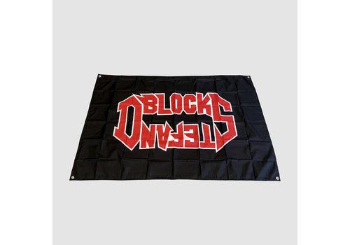 D-BLOCK & S-TE-FAN  ROCK STYLE LOGO FLAG | SOLD OUT