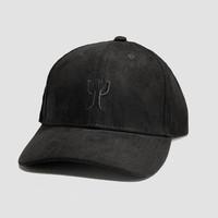 Psyko Punkz - Black Logo Suede Cap