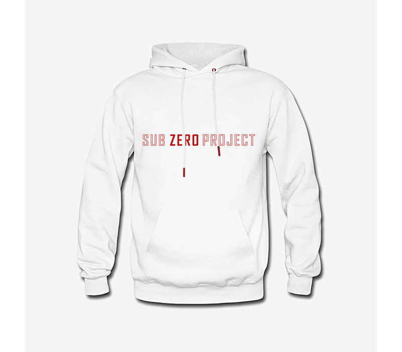 Sub Zero Project - Outline Hoodie White/Red