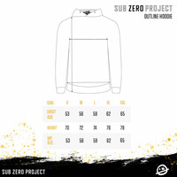 Sub Zero Project - Outline Hoodie Black/Yellow
