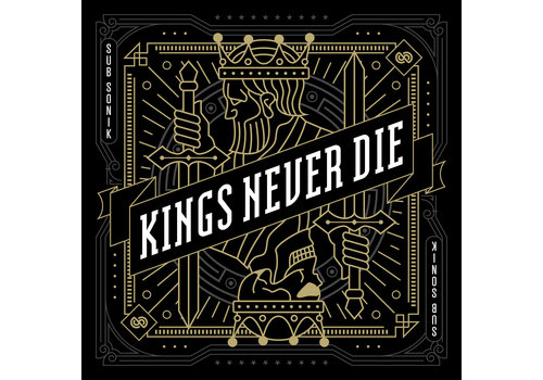 Sub Sonik - Kings Never Die Album + Logo Flag