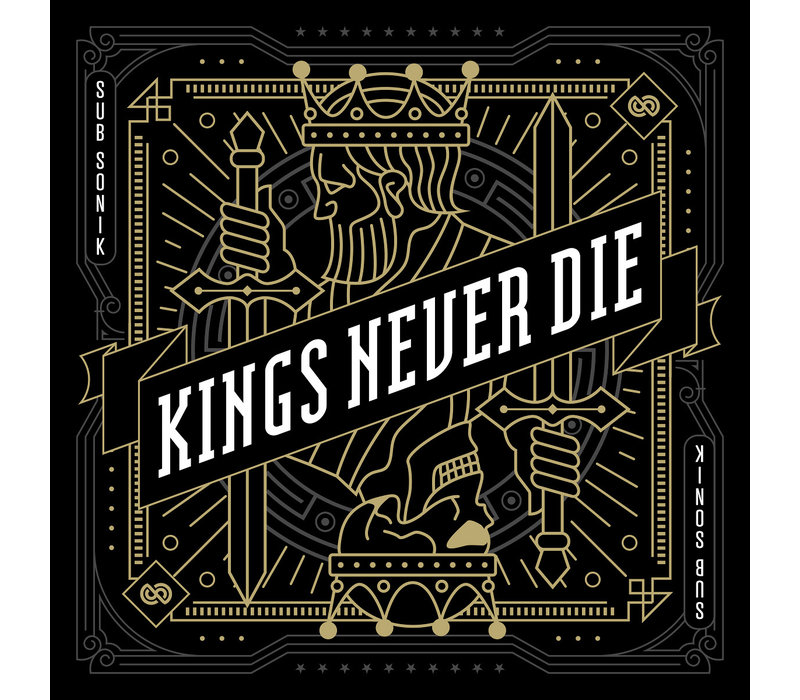Sub Sonik - Kings Never Die Album + Album Flag