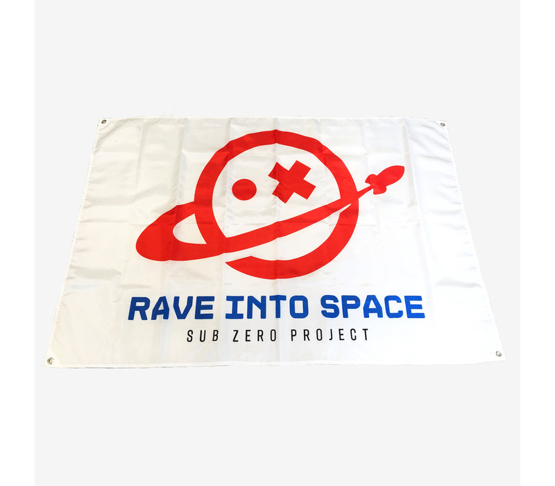Sub Zero Project - Rave Into Space Official Flag