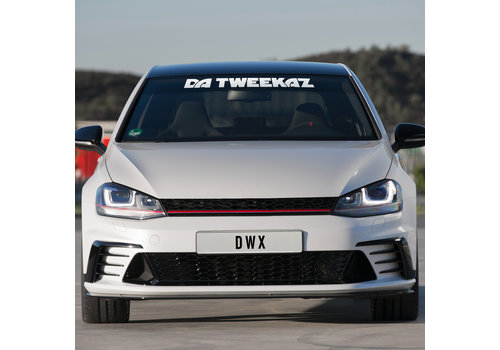Da Tweekaz - Wordlogo Carsticker