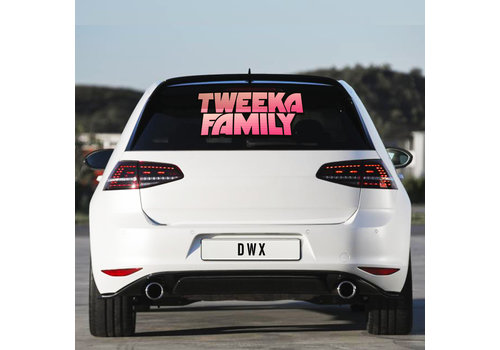 Da Tweekaz - Tweeka Family Carsticker