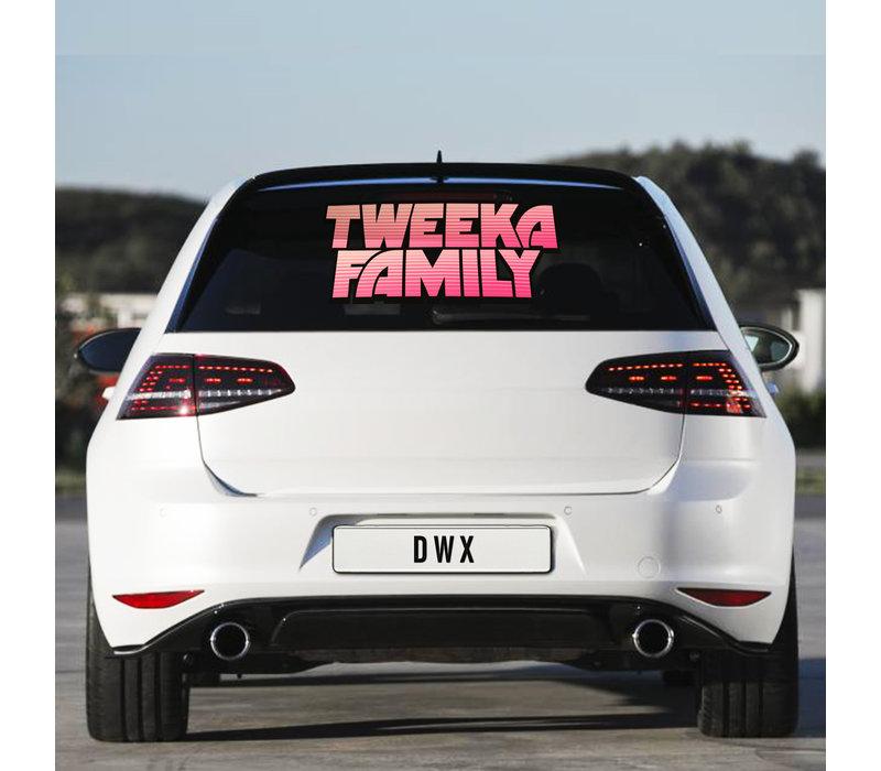 Da Tweekaz - Tweeka Family Carsticker