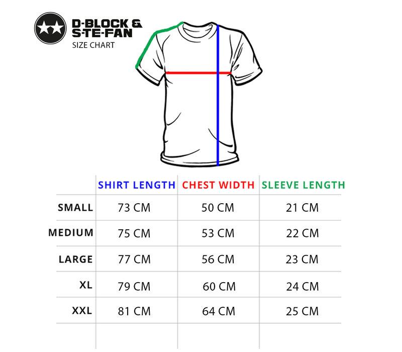 D-Block & S-te-Fan  -  Sprayed Logo T-Shirt
