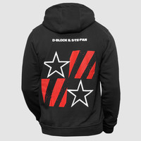 D-Block & S-te-Fan - Stars & Stripes Hooded Sweater