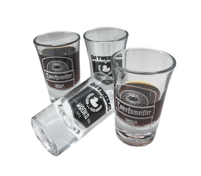 Da Tweekaz - Wodka/Tweekameister Shotglasses