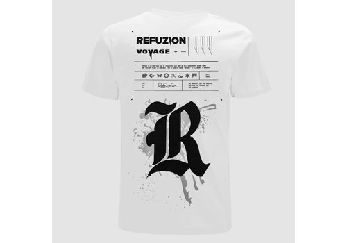 Refuzion - Voyage White T-Shirt