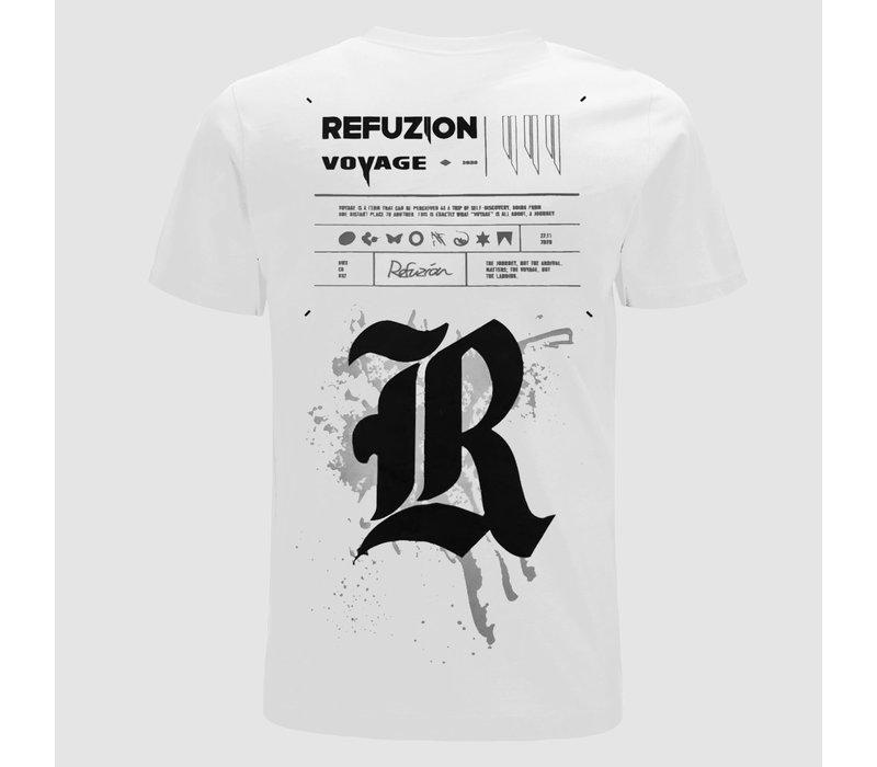 Refuzion - Voyage White T-Shirt