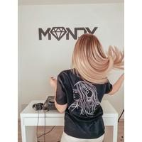 Mandy - Silhouette T-Shirt Black