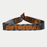 Da Tweekaz - Orange Logo Bracelet