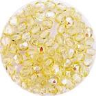 Facetkraal - Middel geel effect - Glas m22 - 4mm