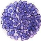 Facetkraal - Donker blauw transparant - Glas h151 - 4mm